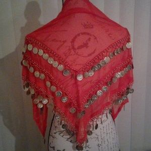 Belly Dance Wrap - Gypsy Scarf Costume Piece